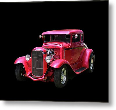 1930 Ford 5 Window Coupe Metal Print by Jack Pumphrey