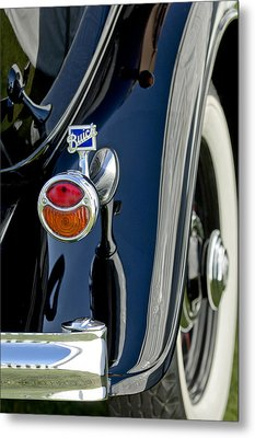 1932 Buick Series 60 Phaeton Taillight Metal Print by Jill Reger