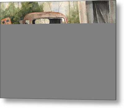 1934 Dodge Half-ton Metal Print by Sam Sidders