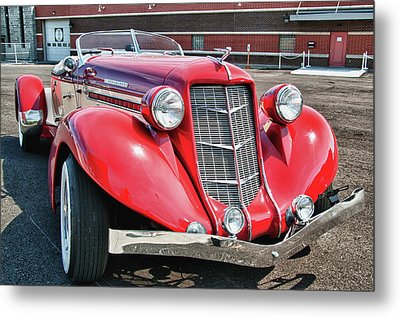 1935 Auburn Speedster 6870 Metal Print by Guy Whiteley
