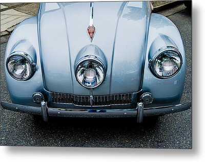 Metal Print featuring the photograph 1947 Tatra T87 by M G Whittingham