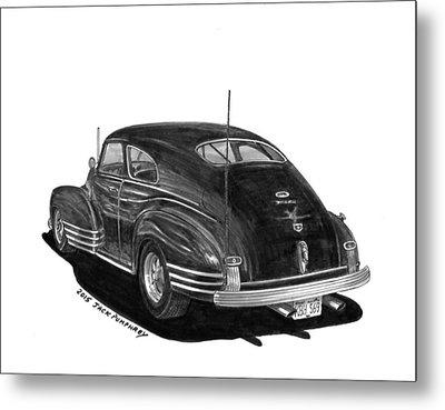 1947 Chevrolet Fleetline Metal Print by Jack Pumphrey