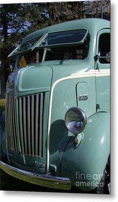 1947 Ford Cab Over Truck Metal Print by Mary Deal