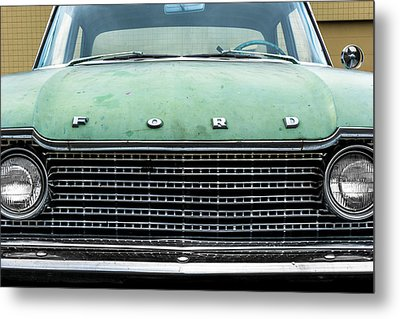 1960 Ford Fairlane Metal Print by Jim Hughes