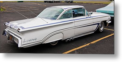 1960 Olds Eighty Eight 2023 Metal Print by Guy Whiteley