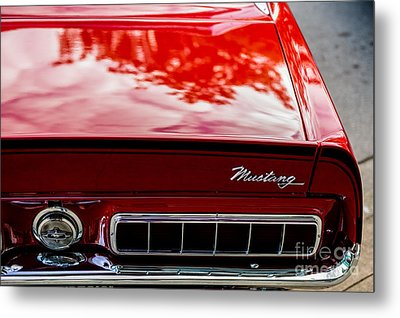 Metal Print featuring the photograph 1967 Mustang by M G Whittingham