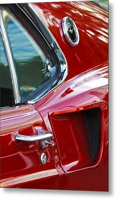 1969 Ford Mustang Mach 1 Side Scoop Metal Print by Jill Reger