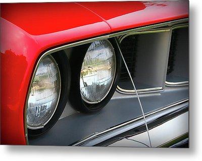 1971 Plymouth Barracuda Cuda Red  Metal Print by Gordon Dean II