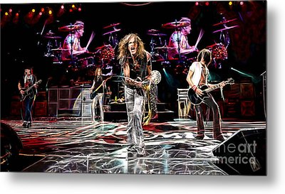 Aerosmith Collection Metal Print by Marvin Blaine