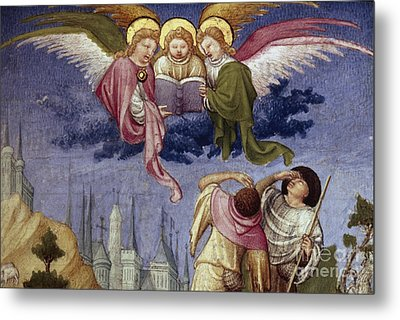 Annunciation To Shepherds Metal Print by Granger
