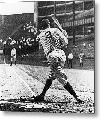 Babe Ruth Metal Print by American School