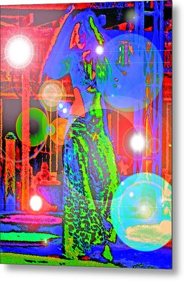 Belly Dance Metal Print by Andy Za