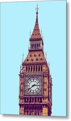 Big Ben Tower, London  Metal Print by Asar Studios