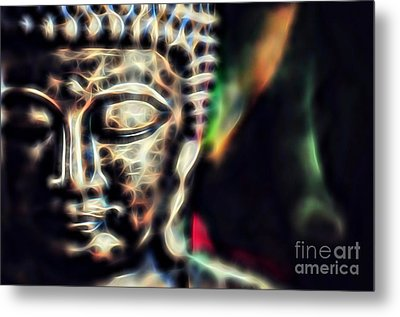 Buddah Collection Metal Print by Marvin Blaine