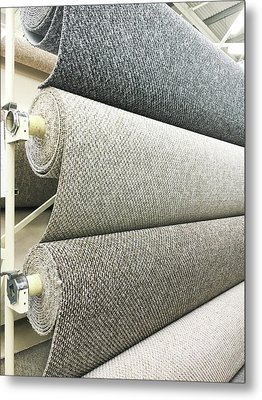 Carpet Store Metal Print by Tom Gowanlock