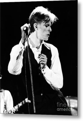 David Bowie 1976 #2 Metal Print by Chris Walter