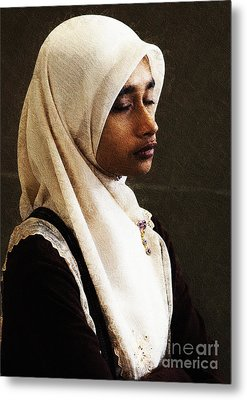Deep In Thought Metal Print by Avalon Fine Art Photography