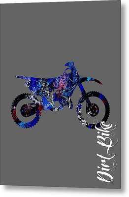 Dirt Bike Collection Metal Print by Marvin Blaine