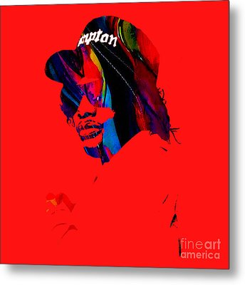 Eazy E Straight Outta Compton Metal Print by Marvin Blaine