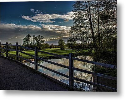 English Countryside Metal Print by Martin Newman