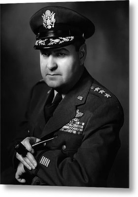 General Curtis Lemay Metal Print by War Is Hell Store