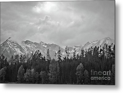 Grand Tetons Metal Print by Brent Parks