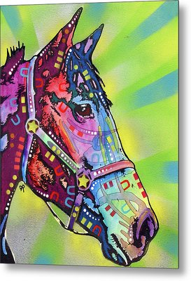 Horse Metal Print by Dean Russo