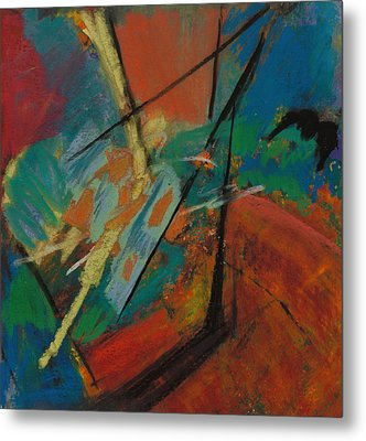 Landing Sight Metal Print by Ethel Vrana