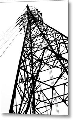 Large Powermast Metal Print by Yali Shi