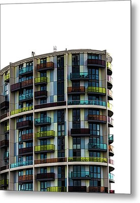 London Architecture Metal Print by Martin Newman