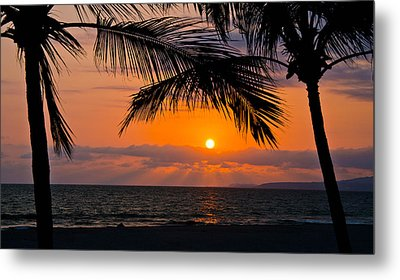 Nuevo Vallarta Sunset Metal Print by About Light  Images