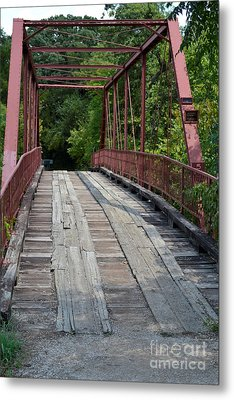 Old Alton Bridge  Metal Print by Ruth  Housley