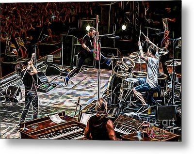 Pearl Jam Collection Metal Print by Marvin Blaine