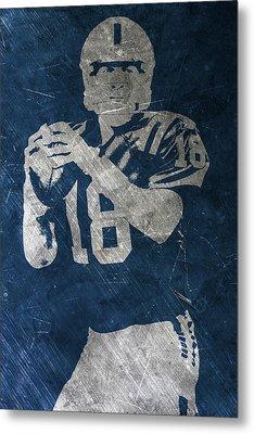Peyton Manning Colts Metal Print by Joe Hamilton