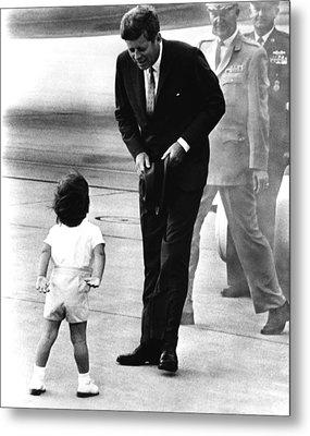 President John F. Kennedy Metal Print by Everett