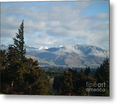 South Island New Zealand Metal Print by Joyce Woodhouse