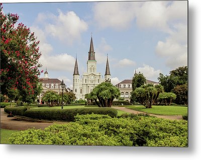 St. Louis Cathedral Metal Print by Scott Pellegrin