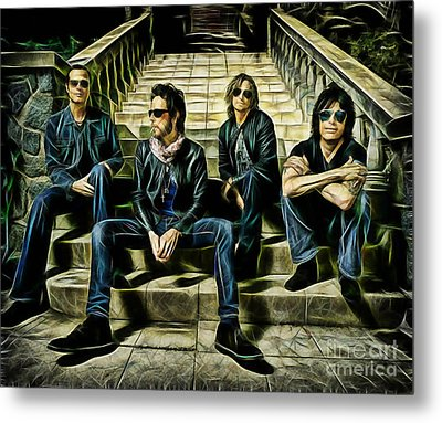 Stone Temple Pilots Collection Metal Print by Marvin Blaine