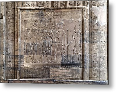 Temple Of Kom Ombo - Egypt Metal Print by Joana Kruse