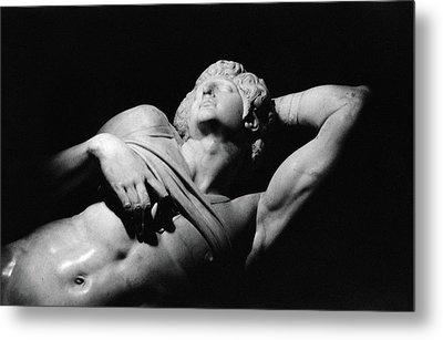 The Dying Slave Metal Print by Michelangelo Buonarroti