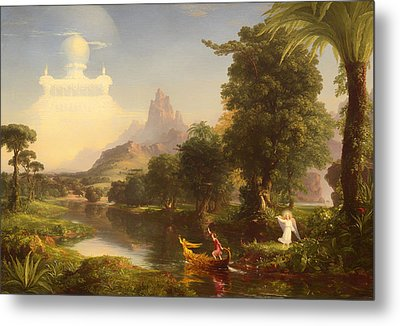 The Voyage Of Life - Youth Metal Print by Mountain Dreams