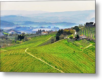 Tuscany Landscape Metal Print by Dutourdumonde Photography