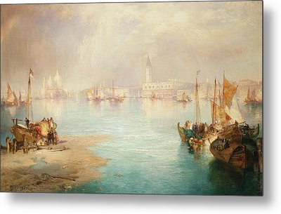 Venice Metal Print by Thomas Moran