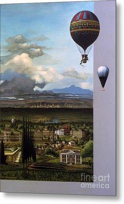 200 Years Of Ballooning Metal Print by Jane Whiting Chrzanoska