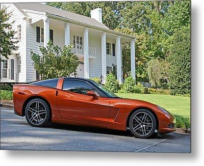 2005 Corvette C6 Metal Print by John Black