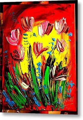 Tulips Metal Print by Mark Kazav