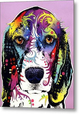 Beagle Metal Print by Dean Russo