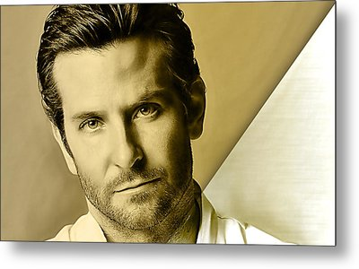 Bradley Cooper Collection Metal Print by Marvin Blaine