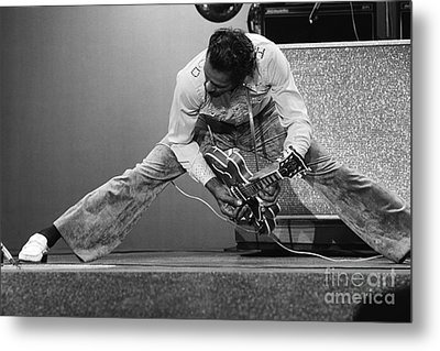 Chuck Berry Metal Print by Terry O'Neill