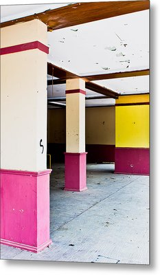 Derelict Building Metal Print by Tom Gowanlock